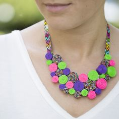 Duck Tape Swirl Necklace. Get creative with Duck Tape & earn points for exclusive prizes with #Ducktivities!