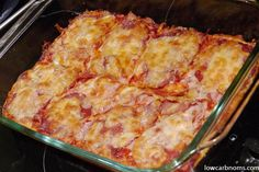 Pizza…To Die For  Low carb alternative to pizza but not cauliflower crust