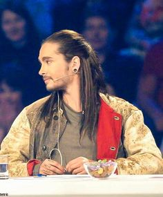 Tom's new hairs - Kaulitz on DSDS