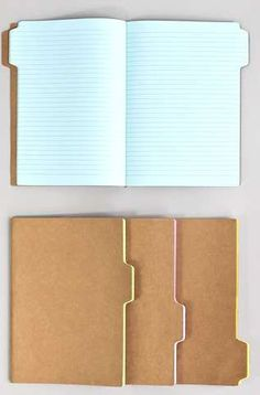These Tab Notebooks Make Idea Organization Simpler #school http://trendhunter.com