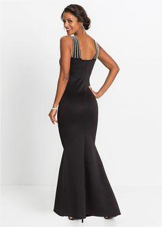 73043efef9 Alkalmi ruha gyöngyökkel fekete Minden | DIVAT | Formal dresses ...