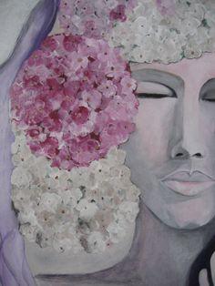 The power of a flower (bijna klaar) ,,warm and cozy'' Sandy hofman