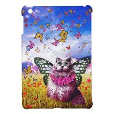 Butterfly Fairy Kat iPad Mini Covers
