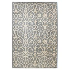 Pairing an elegant scrolling motif with a lovely gray hue, this hand-tufted wool rug brings contemporary elegance to your dining room, living room, or master...Joss and Main $500.95