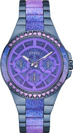 e537ee45720 92639LPGSEO2 Relógio Feminino Guess Multifunção com Pulseira Mista - Guest  Club