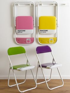 Pantone chairs? NEED.