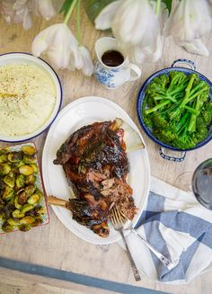 Sticky Slow Roast Lamb - Easy and spectacular!