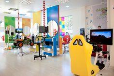 Salão de Beleza infantil em Brasília DF #cabeloclub #kids #hair #saloon