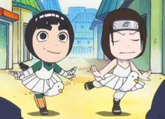 Neji and Lee Naruto Sd, Naruto Chibi, Naruto Fan Art, Naruto Cute, Naruto Funny, Neji E Tenten, Naruto Uzumaki Shippuden, Rock Lee, Mememe Anime