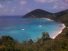 Paradise!  White Bay - Jost Van Dyke, BVI