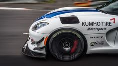 Dodge never got a Nurburgring lap time for the fifth-generation Viper ACR. Kumho Tires, Viper Acr, Fifth Generation, Car Tuning, Dodge, Fan, Vehicles, Concept, Stylish