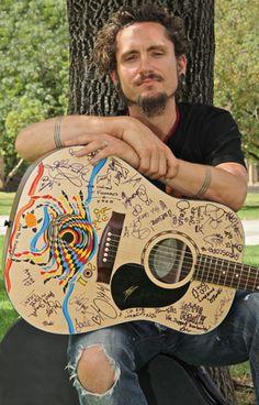 John Butler - Save The Kimberley Guitar copyright Julie Lowe 2011 _web