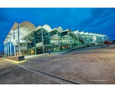 """The Viaduct Events Centre.  Or as I call it """"That wavy building"""""""