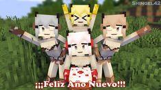 Minecraft Anime, Happy New Year