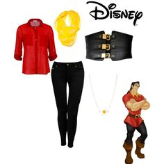 gaston inspired outfit