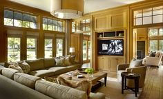 jSame furniture colours. Love the L shaped sofa amesthomas, LLC - Eclectic - Family Room - Chicago - jamesthomas, LLC