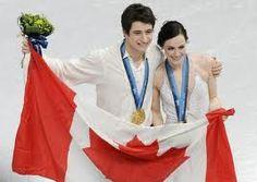 Canada's Figure Skating champions Tessa Virtue and Scott Moir