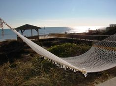 Who wouldn't want to spend a week relaxing in a hammock with ocean breezes and a view like this?!