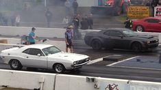 The Legendary 1972 Dodge Challenger vs 2018 Dodge Demon,face to face drag race – Cars-Power