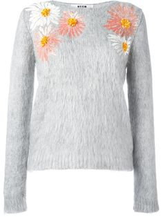 Shop MSGM sequin flowers jumper  in Lindner Fashion from the world's best independent boutiques at farfetch.com. Shop 400 boutiques at one address.