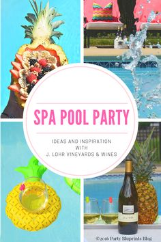 Spa Day Pool Party