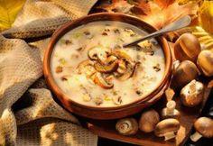 Creamy Cheese Mushroom Soup