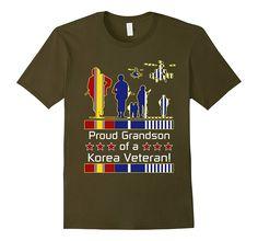 Proud Grandson of a Korea Korean War Veteran T-Shirt