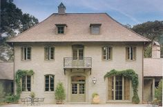 french styled home in the U.S.