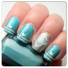 VALENTINE by  shay8815 #nail #nails #nailart