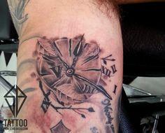 clock tattoo work