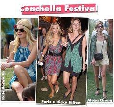 Pra quem não sabe, Coachella é um festival de música super badalado que acontece anualmente na California. Por lá, no meio do deserto, os famosos se misturam com os anônimos e todos viram bicho-grilo-fashionistas cantando ao som de inúmeras bandas mais ou menos hypes. É uma releitura do Woodstock, guardada suas devidas proporções. E como …