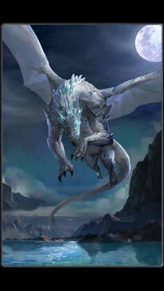 legends and other creatures: DRAGON - . - Myths, legends and other creatures: DRAGONS – -Myths, legends and other creatures: DRAGON - . - Myths, legends and other creatures: DRAGONS – - Mythical Dragons, Crystal Dragon, Cool Dragons, Dragon Artwork, Dragon Pictures, White Dragon, Mythological Creatures, Magical Creatures, Fantasy Artwork