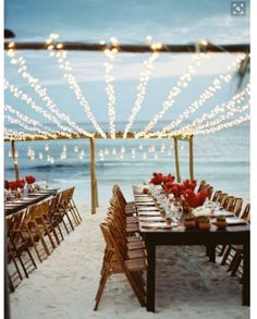 Use leis to decorate your pews for your beach wedding or tropical wedding ceremony. For more beach wedding ceremony decor ideas visit: . Beach Wedding Reception, Beach Wedding Decorations, Reception Ideas, Wedding Ceremony, Wedding Receptions, Rustic Wedding, Spring Wedding, Wedding Planning, Simple Beach Wedding
