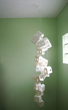 Paper Houses Sculpture  http://www.etsy.com/transaction/62739610%E2%80%8F