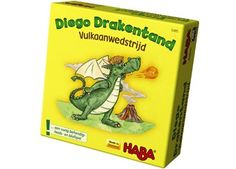 Diego Drakentand : Vulkaanwedstrijd - plaatsnr. SL SPEL/073 #Bluffen #Behendigheid