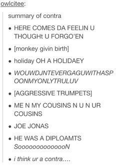 summary of Contra (album) - the monkey giving birth part couldnt be more true lolol