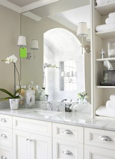 Vanity with sink and storage!