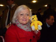 Siobhain McDonagh, MP for Mitcham & Morden backs the Paul Strank Roofing Photothon with Pudsey. #pudsey #pudseyphotothon #cin