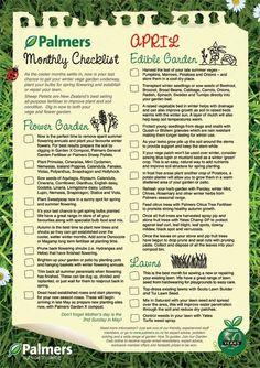 April monthly gardening checklist #PalmersGardenCentre