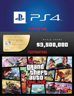 PS4 Grand Theft Auto V Online GTA Whale Shark Cash Card $3,500,000 within 24Hrs  http://searchpromocodes.club/ps4-grand-theft-auto-v-online-gta-whale-shark-cash-card-3500000-within-24hrs/