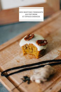 Cupcake Recipes 59914 Mea Photography - Recipe for fondant pumpkin muffins and sweet spices - The barefoot bride Köstliche Desserts, Sweet Desserts, Dessert Recipes, Pumpkin Recipes, Fall Recipes, Sweet Recipes, Chocolate Cupcakes, Chocolate Recipes, Chocolate Videos