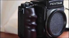 Pentax 67 Pentax67 Pentax6x7 Custom wooden grip handle right hand (Rosew...