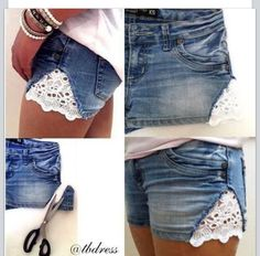 Glam Radar | Most Covetable DIY Jean Shorts Styles