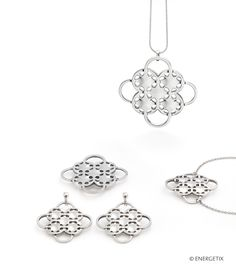 Exclusively designed magnetic jewellery by ENERGETIX. Fashionable bracelets, necklaces, rings and earrings. Discover wellness at its most beautiful. Crochet Earrings, Diamond, Silver, Touch, Shopping, Jewelry, Fashion, Magnets, Wristlets