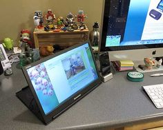 """Lenovo ThinkVision 14"""" Widescreen Portable Monitor -- USB powered portable monitor for your laptop, about $200"""