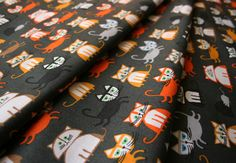 Cloud9 Fabrics Happy Drawing,Too by Ed Emberley Cats