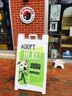 The #BigBadWoof partners with several rescue organizations including Washington Animal Rescue League (#WARL), the Washington Humane Society, Greyhound Rescue, and more.  #adopt #rescue #aspca #greyhound #mdsbdc #marylandsbdc #bigbadwoof #pets #dogs