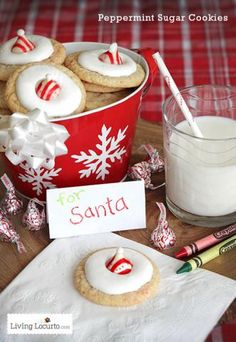 Upgrade your usual cookies and milk with festive desserts that are inspired by Santa himself.