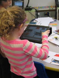 Using iPads in an elementary classroom. Real simple!