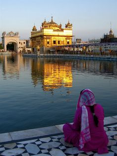 Golden Temple, Amritsar, Punjab, India.